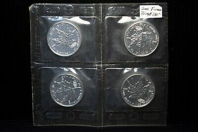 Canada 2000 $5 .9999 Silver Maple with Fireworks Privy Mark Sealed 4 piece