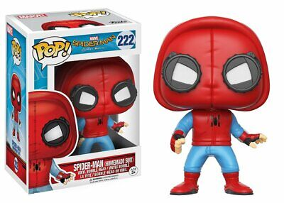 Spider-Man (Home Made Suit) - Spiderman Homecoming - 222 - Pop! Vinyl