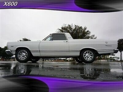 1967 RANCEARO 500 New 302 White FORD RANCEARO with 45,905 Miles available now!