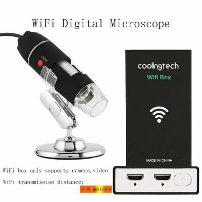 1600X WiFi Digital Microscope USB Camera Microscopio Electronic Magnifie⚡D4%