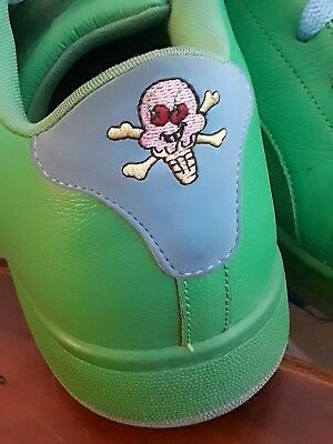 REEBOK ICE CREAM BOARD GREEN FLIP SKATE SHOES 13 SHOES SKATER SNEAKERS bbc 4e3602eb7