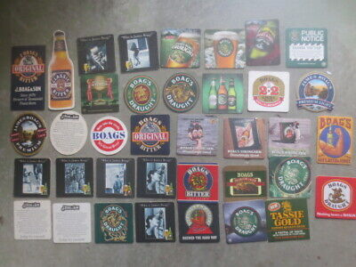 37 different BOAGS Brewery,Tasmania BEER COASTERS,collectable