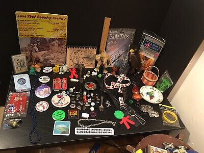 Lot Of 100+ Junk Drawer Items Pins Buttons Jewelry Vintage Toys