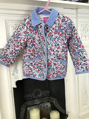 Joules Floral Lightly Padded Jacket (18-24)