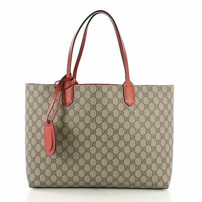 218d694eece GUCCI REVERSIBLE TOTE Blooms GG Print Leather Medium -  1