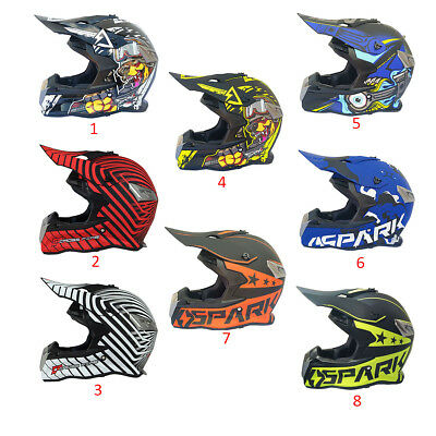 964fb023979a1 Visage Ouvert Moto Route Casque Motocross Atv Dirt Bike Descente Vtt Course