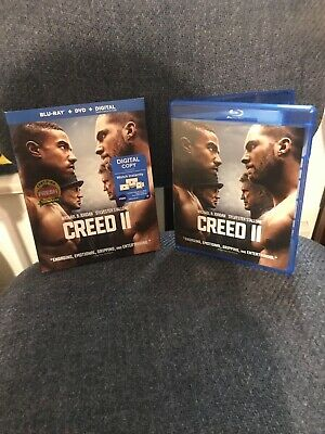 Creed II Blu-ray + Digital HD (DVD INCLUDED) Michael B Jordan, Stallone!