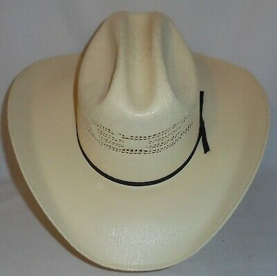 96b3d933bfc1e VTG RESISTOL SELF Conforming Western Cowboy Hat Round Up Collection ...