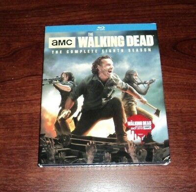 The Walking Dead: The Complete Eighth Season 8 on Blu-ray - NEW & SEALED!