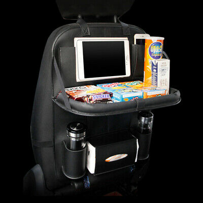 Luxury Table Car Back Seat Storage Tidy Organiser Laptop DVD Holder Tray Travel