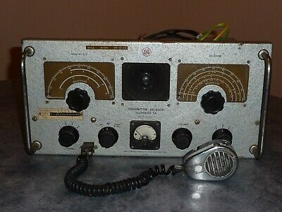 AWA Teleradio 5A ,good working order,valve radio transceiver,amateur radio.