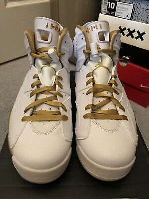 online retailer 5d565 85b02 VNDS 2012 Nike Air Jordan 6 GMP Golden Moments Pack Size 10 384664-135 Worn