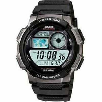 Casio AE1000W-1BOS Men's Digital Watch, Black