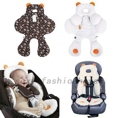 Baby Newborn Car Seat Stroller Cushion Pad Liner Head Body Support Pillow Mat AU