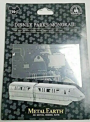 Disney Parks Monorail Metal Earth 3D Model Kits - NEW