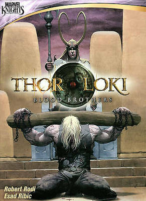 Marvel Knights: Thor & Loki Blood Brothers (DVD) NEW