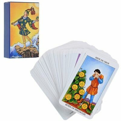 Rider Waite Tarot Cards Deck Vintage Colorful Box Smith 78 Cards