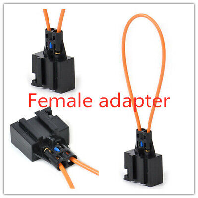 MOST optical loop bypass Female Adapter For Audi BMW Porsche Mercedes Benz Acces
