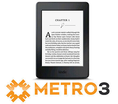 """Kindle Paperwhite E-reader 7th Gen 6"""" High-Res 300 ppi Touch w Light 