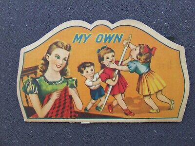 "Vintage Needle Case Collectable ""My Own"""