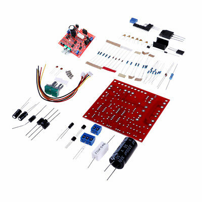 Red 0-30V 2mA-3A Adjustable DC Regulated Power Supply Board DIY Kit PCB HQ