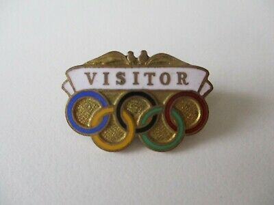 1956 Melbourne Olympic Games Visitors Badge