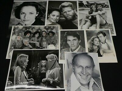 "8 x TV Press Kit Photos ~ 8x10 ""The Young & The Restless"" Jaime Lyn Bauer & More"