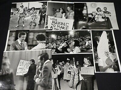 "8 x TV Press Kit Photos ~ 8x10 ""Let's Make a Deal!"" Monty Hall Contestants Fans"