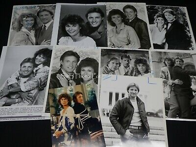 "10 x TV Press Kit Photos ~ 8x10 ""Scarecrow & Mrs. King"" Kate Jackson Boxleitner"