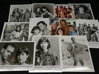 "11 x TV Press Kit Photos ~ 8x10 ""China Beach"" Dana Delaney Robert Picardo & More"