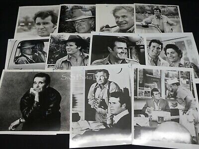 "11 x TV Press Kit Photos ~ 8x10 ""The Rockford Files"" James Gardner Noah Beery +"