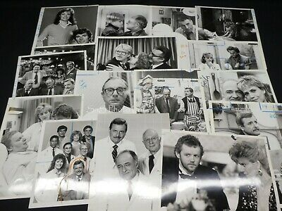 "16 x TV Press Kit Photos ~ 8x10 ""St. Elsewhere"" Cast & ""Cheers"" Cross-Over Ep."