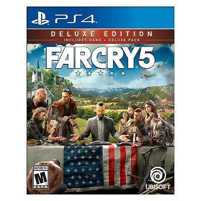 Ubisoft Far Cry 5 - Deluxe Edition (PlayStation 4)