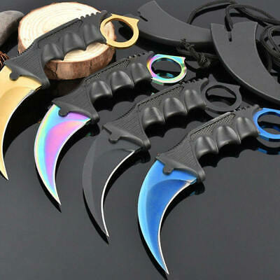 1* Tactical high hardness Wild survival multi-function  knife outdoor Tools YPN