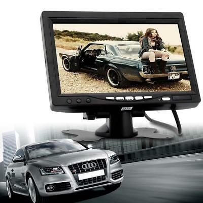 2-Channel 7 Inch TFT LCD Color Car Rear View Headrest Monitor DVD VCR Monitor XI