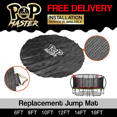 Replacement Trampoline Mat Round Spring Spare Part 6ft 8ft 10ft 14ft 16ft AU