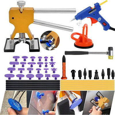 US Paintless Car Dent Remover Repair Kit 47pcs Dent Puller kit DIY Tools