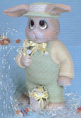 Ceramic Bisque Dona's Papa Bunny U-Paint  Ready to Paint Unpainted Easter