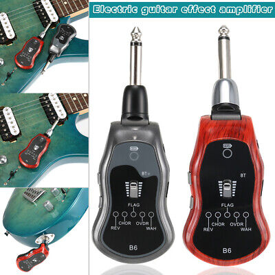Bluetooth Electric Guitar Effect Amplifier System for Guitar 5 Sound Modes