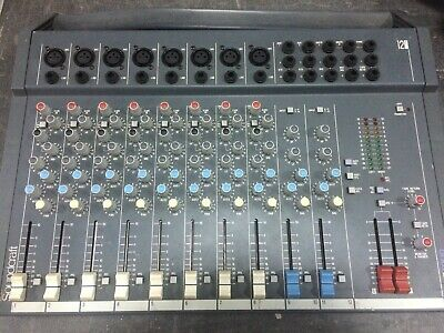Soundcraft Spirit Folio 12/2 Mixer 12 canali