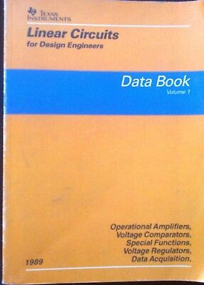 TEXAS INSTRUMENTS  tre Data Book vintage