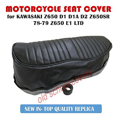Kawasaki Kz Z 650 D1 D1A D2 Z650Sr Kz 650Sr 78-79 Z650 E1 Ltd Replica Seat Cover
