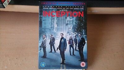 DiCaprio - Inception - Two (2) Disc - Special Edition - Cardboard Sleeve Edition