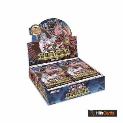 Yu-Gi-Oh The Infinity Chasers Booster Box - 1st Edition - Trading Card Game INCH