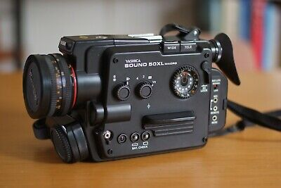 Vintage Yashica Sound 50XL Macro 8mm Camera. Made in Japan Rare Collectable, VGC