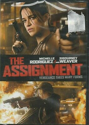 The Assignment, DVD New  Michelle Rodriguez, Sigourney Weaver 2017
