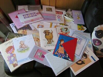 Collection/job Lot Of Greeting Cards, Some Comical Some Blank