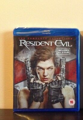 Resident Evil: The Complete Collection [Blu-ray] *NEW*