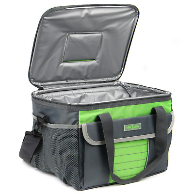 Insulated Cooler Bag   Large 16L Lunch, Drinks & Picnic Tote Carrier   M&W