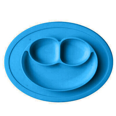 Mat Silicon Eat Food Baby Kids In A Piece Lovely Silicone Suction Bowl newest